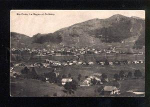 046057 SWITZERLAND Ste-Croix La Sagne Culliairy Vintage PC