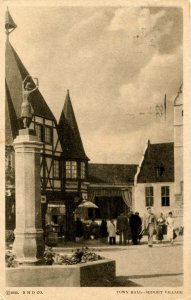 IL - Chicago. 1933 World's Fair, Century of Progress. Town Hall, Midget Village