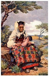 Woman with Baby , Meneghello-Dincic