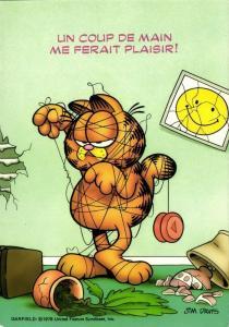 American Comic Strip GARFIELD, Cartoonist Jim Davis (1978) 2
