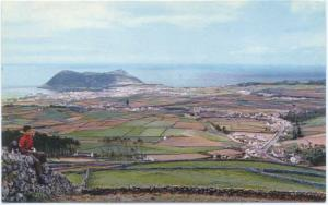 View of from Round Peak, Terceira, Acores, Azores, Chrome