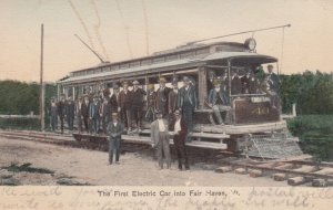 FAIR HAVEN , Vermont , 00-10s ; First electric Car