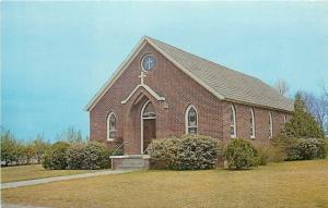 St Matthews South Carolina~The Lutheran Church of the Epiphany~1960s Postcard