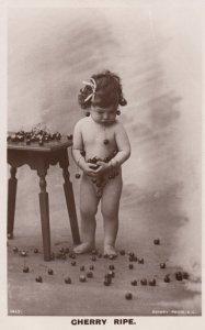 Victoria Era Child Portrait CHERRY RIPE , 00-10s