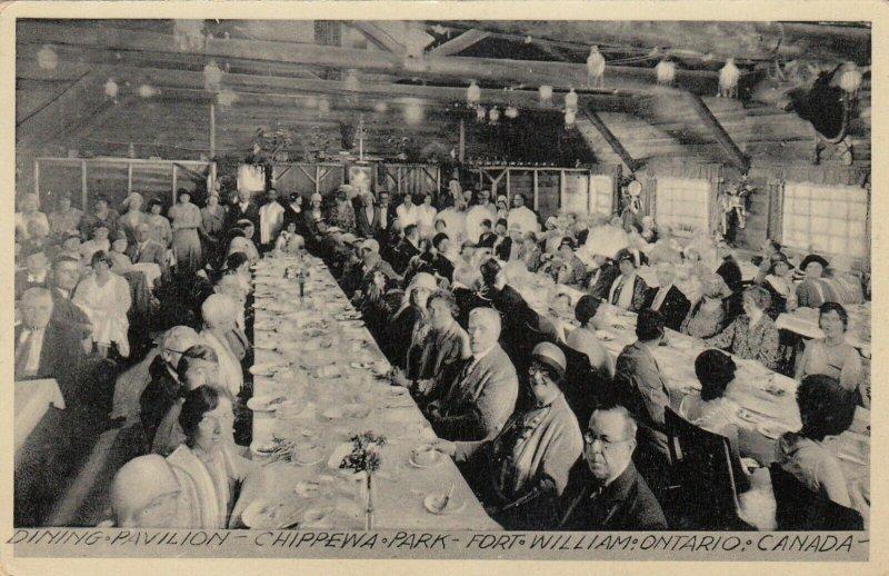 FORT WILLIAM , Ontario, 00-10s ; Dining Pavilion , Chippewa Park