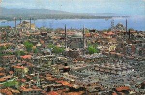 B108962 Turkey Ayasofya Nuruosmaniye Ve Sultanahmet Camileri Blue Mosque
