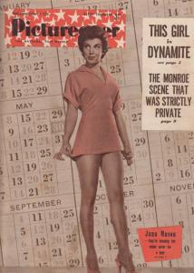 Picturegoer Jana Mason Marilyn Monroe Zoe Newton 1955 Magazine