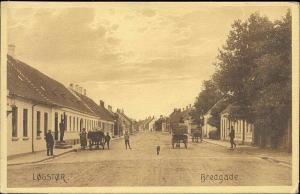 denmark, LOGSTOR LØGSTØR, Bredgade (1919)