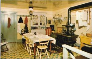 Kitchen Woodside National Historic Park Kitchener Ontario ON Unused Postcard E21