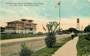 TX, Port Arthur, Texas, Mary Gates Memorial Hospital, Tichnor No. R-31719