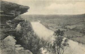 Wyalusing Rocks Pennsylvania~Roosevelt Highway~Sullivan Trail~Route 6~1920s PC