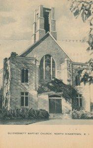 NORTH KINGSTOWN , Rhode Island , 1965 ; Quidnessett Baptist Church