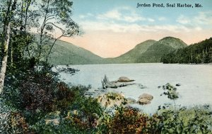 ME - Seal Harbor. Jordan Pond
