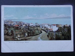 Morocco TANGER Route de Fez c1905 UB Postcard by Valentin Hell
