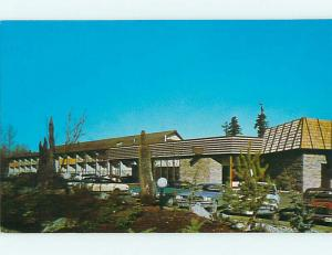 Unused Pre-1980 OLD CARS & THUNDERBIRD MOTEL & RESTAURANT Bellevue WA s6261-23