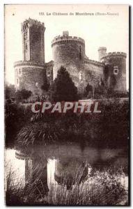 Old Postcard The Chateau de Montbrun