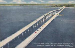 Florida St Petersburg New Gandy Twin-Span Bridge