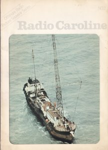 Radio Caroline Official Rare Large Photo Book Souvenir Issue 2 Magazine