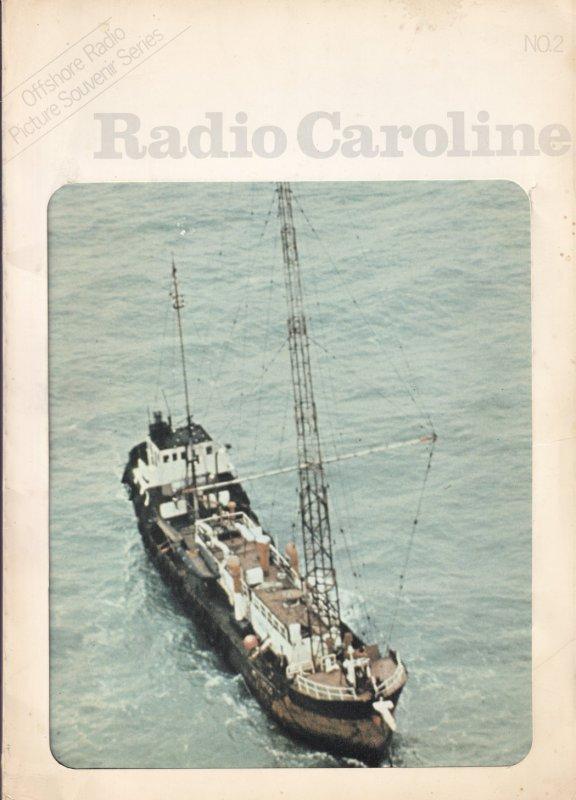 Radio Caroline Official Rare Large Photo Book Souvenir Issue 2 Magazine