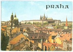 Czech Republic, Prague, Praha, used Postcard