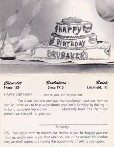 Illinois Litchfield Brubakers Chevrolet & Buick Car Dealership Dexter Press