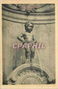 Old Postcard Brussels