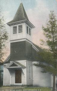 NORTH WOODSTOCK , New Hampshire , 1900-10s; Free Baptist Church