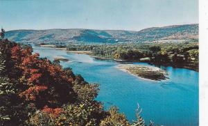 A Picturesque View Looking West From Morrissey Rock, Near Campbellton, New Br...