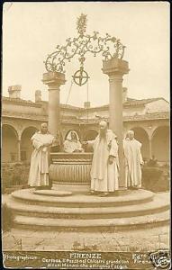 italy, FIRENZE, Certosa, Pozzo, Chiostro Grande 1903 RP