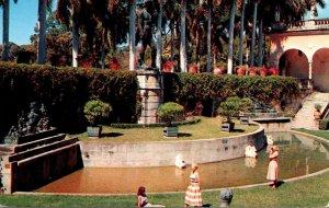 Florida Sarasota John and Mable Ringling Museum Of Art The Italian Garden Court