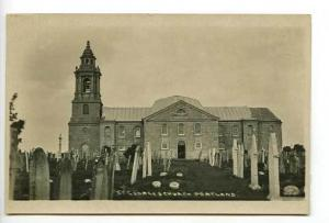 Portland UK  St George Church Postcard RPPC
