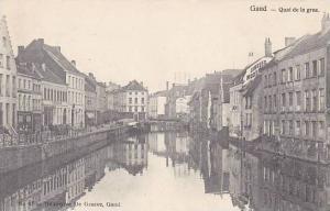 Belgium Gent Gand Quai de la grue