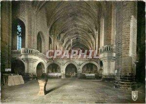Modern Postcard La Chaise Dieu Haute Loire Abbey Church St. Robert Le Jube