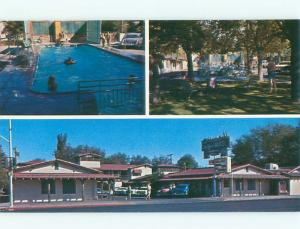 Pre-1980 OLD CARS & OLD WEST MOTEL Las Vegas Nevada NV W6337