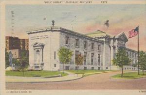 Kentucky Louisville Public Library