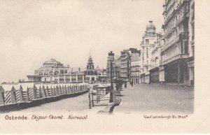 OSTENDE , Belgium , 1900-1910's; Digue Ouest , Kursaal