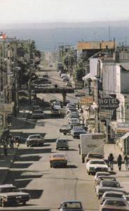 Main Street , Mont-Joli Cte. Matapedia , Quebec  , Canada , 50-60s