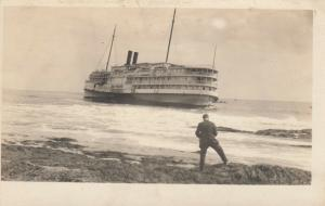 RP; Shipwreck of BAY STATE, Cape Elisabeth , Maine , 00-01s #2