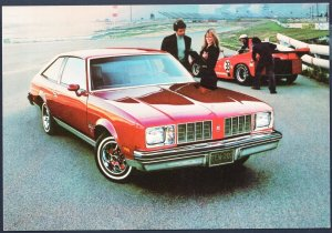 Classic Car Dealer 1978 OLDSMOBILE Cutlass Salon Brougham Large Postcard Chrome