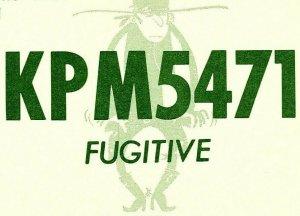 Vintage QSL Postcard  KPM 5471  Columbus, Ohio  Mike Sammie Gina Goodwin  -T-