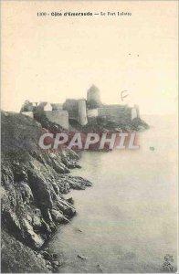 Old Postcard Emerald Coast Fort Lalatte