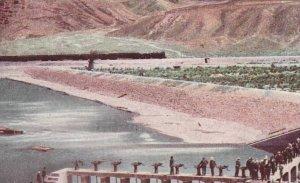 Head Gates of Irrigation Canal Near Reno Reno Nevada