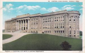 Exterior,  Central High School,  Pueblo,  Colorado,  00-10s