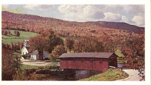 Covered Bridge at the Green West Arlington VT, Vermont