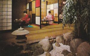 Maiko Gardens Japanese Restaurant ,Vancouver , B.C. , Canada , 1960s