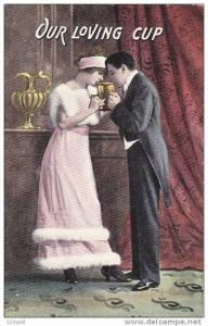 Couple in Love - Drink from Loving Cup, 00-10s
