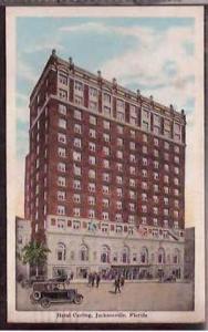 FL Jacksonville Hotel Carling 1928