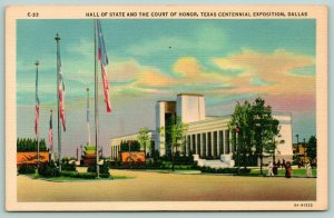 Dallas~Texas Centennial Exposition~Hall of State~Court of Honor~Art Deco~1936