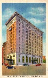 West Virginia Bluefield The West Virginian Hotel 1937 Curteich