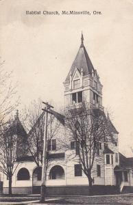 MCMINNVILLE, Oregon , 00-10s; Babtist Church